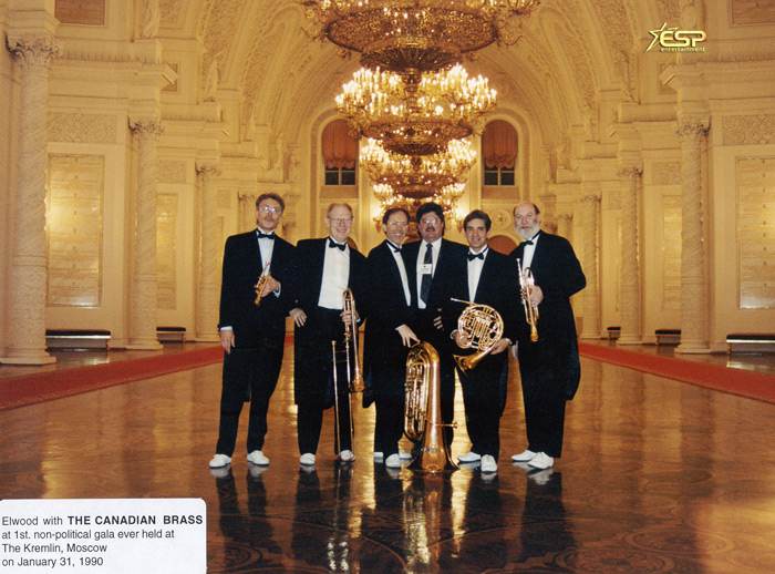 Elwood Saracuse & the Canadian Brass at the Kremlin, Moscow