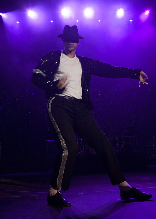 Signature's Suleman Mirza as Michael Jackson